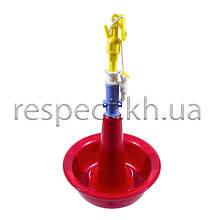 Автоматична дзвонова поїлка для дорослих індичок