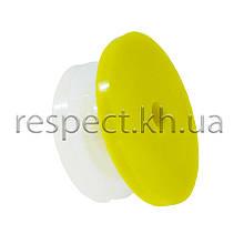 Вушна бирка (кліпса) для кролів кругла 18 мм (чиста)