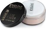 Транспарентна розсипчаста пудра для обличчя Eveline Eveline Cosmetics Loose Powder Cashmere Mat, 6 м №01, фото 2