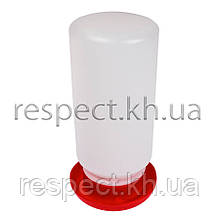 Вакуумна поїлка на 1л (Діаметр піддону 10,5 см)