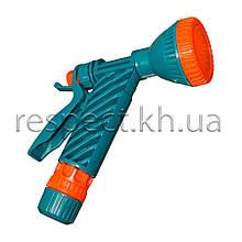 """Пістолет для поливу """"душ"""" (цанга 1/2"""") з фіксатором"""