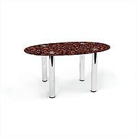 Стол журнальный БЦ-стол Овальный Coffee aroma (460 x 700 x 450)