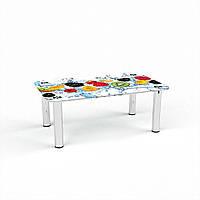 Стол журнальный БЦ-стол Прямоугольный Berry Mix (430 x 700 x 450)