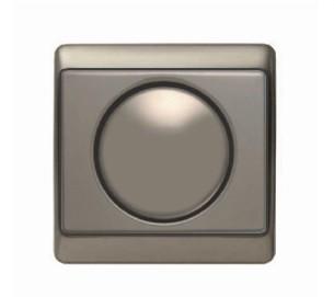 Светорегулятор поворотный 400 Вт Berker Arsys светло-бронзовый
