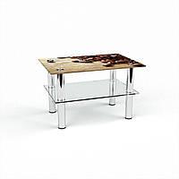 Стол журнальный БЦ-стол Прямоугольный с полкой Coffee (380 x 550 x 450)