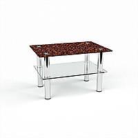 Стол журнальный БЦ-стол Прямоугольный с полкой Coffee aroma (380 x 550 x 450)