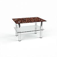 Стол журнальный БЦ-стол Прямоугольный с полкой Morning aroma (380 x 550 x 450)