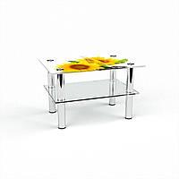 Стол журнальный БЦ-стол Прямоугольный с полкой Sunflower (380 x 550 x 450)