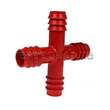 Хрест під шланг 20 мм пластиковий