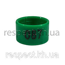 Маркерні пластикові кільця для птиці 1,6 см (номерні)