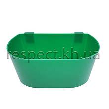 Поїлка чашкова кругла навісна для клітини Велика (економ)