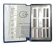 Зразки шорсткості поверхні (порівняння) (полірування після хромування) набір з 6 шт