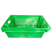 Ящик пластиковий поворотний (салатовий)