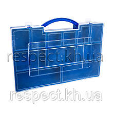 Пластиковий органайзер для дрібних деталей, запчастин (200х280х40)