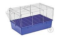 Клітка Природа для гризунів Кролик 70, хром/синя