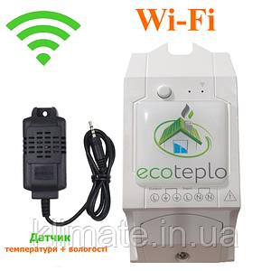 Ecoteplo Wi-Fi терморегулятор  ECOTEPLO S-1