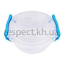 Пластиковий контейнер для продуктів круглий 0,5 л