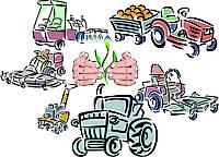 Обладнання та техніка для сільського господарства.