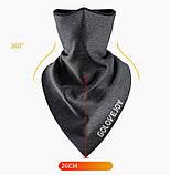 Велосипедна маска балаклава GOLOVEJOY frost black, фото 2