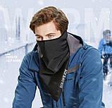 Велосипедна маска балаклава GOLOVEJOY frost black, фото 3