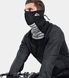 Велосипедна маска балаклава GOLOVEJOY bazoo gray, фото 3