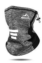 Велосипедна маска балаклава  GOLOVEJOY zebra gray