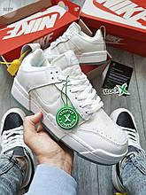 Чоловічі кросівки Nike dunk low disrupt white (білі) 663TP молодіжні круті спортивні кроси