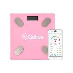 Весы напольные электронные Gelius GP-BS001 Pink