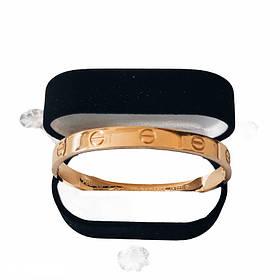 Браслет Картье Cartier Love 16S без камней, Желтое Золото