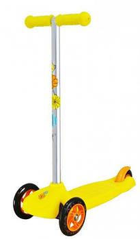 Самокат триколісний Playtive Junior Німеччина жовтий
