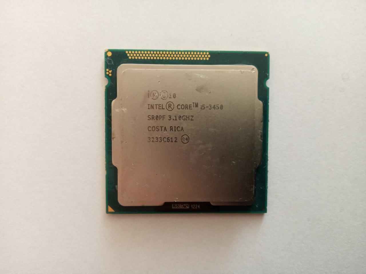 Процессор Intel Core i5-3450 4 ядра 3,10 GHz/ 6Mb Кеш/5 GT/s/HD Graphics 2500/ s1155