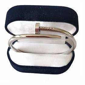 Браслет Картье Cartier Гвоздь,16S, Белое Золото