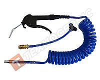 Набор пневматический для продувки с тройником и быстросъемом 4м синий (производство Турция)