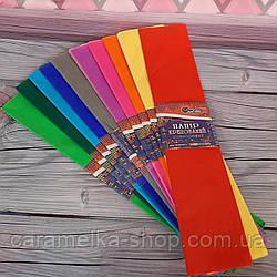 Папір Креп,10 кольорів , розмір одного листа 50*200см