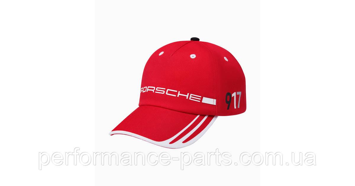 Детская бейсболка Porsche 917 Salzburg Collection, Cap, Kids, grey melange/black/red, артикул WAP4600010MSZG