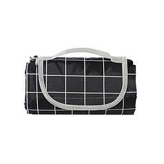 Килимок для пікніків і кемпінгу складаний Lesko Shanpeng Njb-001 Чорна Клітка 150*200 см каремат