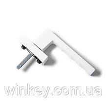 Ручка оконная Hoppe TOULON Secustik белая