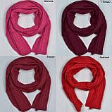 Вязанный шарф под шапку, фото 5
