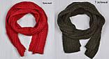 Вязанный шарф под шапку, фото 8