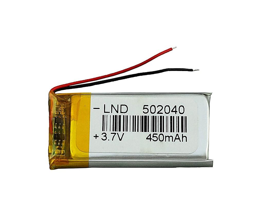 Батарейка для видеорегистратора 3.7в 450мАч 50 20 40