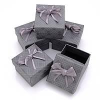 Коробочка для ювелирных изделий 50х50х35 Серый