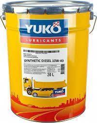 Моторное масло YUKO SYNTHETIC DIESEL 10w40 CJ-4   17,5 кг