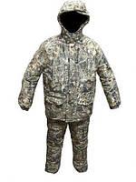 """Зимний камуфлированный костюм с капюшоном """"Камыш"""", фото 1"""