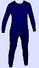 Термобелье зимнее мужское синий