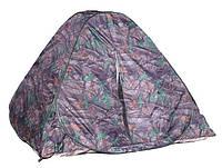 Палатка восьмерка цвет дуб 2.5х2.5 1.6м