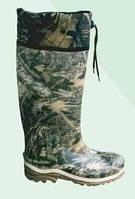 Камуфльовані чоботи з підошвою тришарової