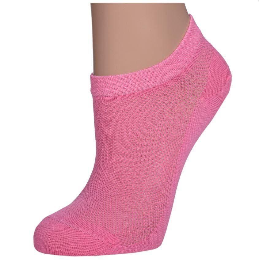 Шкарпетки жіночі літні укорочені сітка Крокус розмір 36-40 асорті