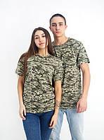 Камуфляжная футболка (Цвета и размеры в ассортименте)