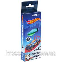 Кольорове тісто для ліплення Kite Hot Wheels HW21-136, 7*20 г