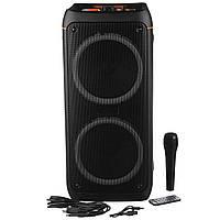 Портативная беспроводная колонка Electronic UBL 0808 + микрофон